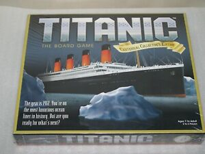 TITANIC The Board Game 2012 Centennial Collector's Edition New Factory Sealed