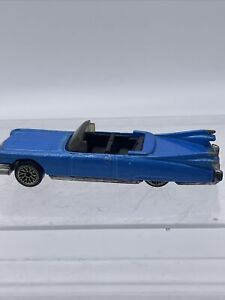 1998 Hot Wheels - '59 Blue Cadillac Convertible