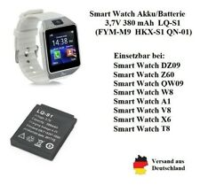 Akku/Batterie für Smart Watch DZ09, T8 usw. LQ-S1 3,7V 380 mAh
