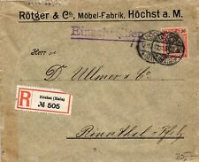 Máximos am Main, R-Carta de los muebles rötger-fábrica, tras rinnthal Palatinado, 30 pf Germ