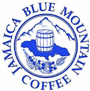 100% Jamaican Blue Mountain & Kona Coffee Beans Medium Roasted Daily 12 OZ Each