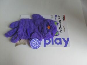 Purr Pillow Kitty For Cats Petstages Calm & Comfort Touch Activated Purple