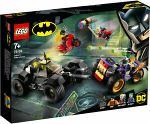 LEGO DC SUPER HEROES JOKER'S TRIKE CHASE BATMAN 76159 AGE 7+ BRAND NEW FREE P&P