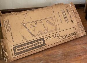 Marantz woodgrain Vinyl R 30 Utility Cabinet Rack Case New In Opened Box