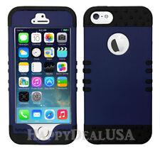 nFor Apple iPhone 5/5s/SE - KoolKase Hybrid 0Silicone Cover Case - Navy Blue (R)
