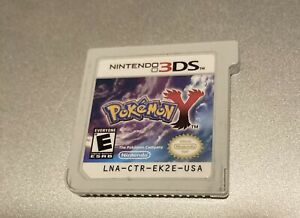 Pokemon Y (Nintendo 3DS, 2013) Tested - Cart Only Authentic