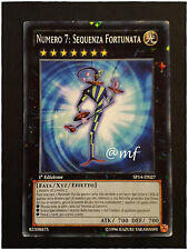 NUMERO 7 SEQUENZA FORTUNATA SP14-IT027 STARFOIL ITA  - YGO YUGIOH YU-GI-OH [MF]