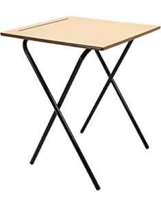 Exam Desk Study Folding Table Class Room School Computer laptop Table