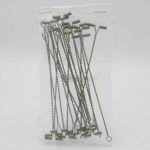 20 Pc Lot Stainless Steel T-Bar Arms Fishing Rig Spreader 4-1/2 in