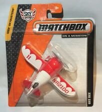 Matchbox Skybusters Gee Bee Diecast Toy Plane Red White