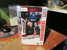 Transformers DEEP COVER Exclusive Netflix War For Cybertron Hasbro NEW in box