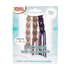 Macrame Wall Hanging Kit for Intermediate Skill Levels