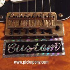 SRV Custom Decal 1st First Wife Guitar Sticker Stevie Ray Vaughan Replica