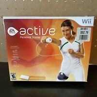 EA Sports Active Personal Trainer Nintendo Wii Leg Strap&Game-No Resistance Band