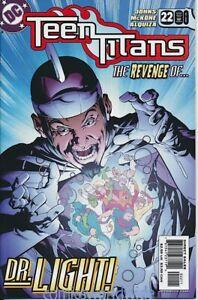 Teen Titans #22 (2005 3rd Series) NM, Revenge of Dr. Light, Starfire