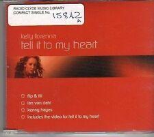 (BM224) Kelly Llorenna, Tell It To My Heart- 2002 DJ CD