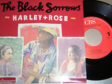 """7"""" - The Black Sorrows / Harley & Rose + Rattle your cage - MINT 1990"""