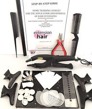 FUSION HEAT CONNECTOR WAND+ DIY KIT + MANUAL FOR APP+REMOVAL  HAIR EXTENSIONS