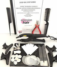Hair extension bond kit + training manual FOR APP+ REMOVAL of  HAIR EXTENSIONS