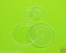 Petri Dishes Borosilicate Glass Culture Tissue 60mm 100mm LAB Specimen NEW
