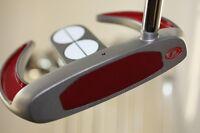 "BIG TALL EXTRA LONG PUTTER 36"" STRAIGHT RH Golf Club Irons Men 3 Ball Sabertooth"