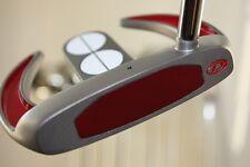 "BIG TALL EXTRA LONG PUTTRE 36"" STRAIGHT RH Golf Club Irons Men 3 Ball Sabertooth"