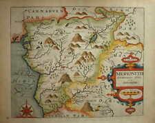"""MERIONITH COMITATUS FOR CAMDEN'S """"BRITANNIA"""" 1607-37."""