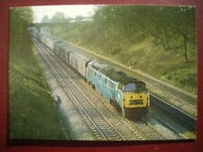 POSTCARD RP RAIL CLASS 52 WESTERNS - D1057 'WESTERN CHIEFTAN' PASS RUSCOMBE MARC