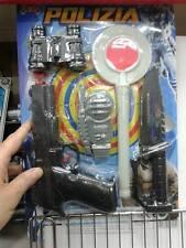 coltello pistola polizia set gioco di qualità giocattolo toy a20 natale