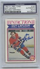 GUY LAFLEUR SIGNED 1977-78 TOPPS CARD #90 PSA/DNA AUTO 83738273