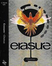 ERASURE CHORUS CASSETTE U.K. SINGLE CMUTE125 Electronic Synth-pop
