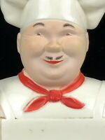 Vintage Noma Happy Chef Cook Baker Kitchen Memo Pad Wall Plaque