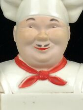 Vintage Noma Ha 00004000 ppy Chef Cook Baker Kitchen Memo Pad Wall Plaque