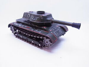 82722 Nomura Japan Modern Toys RC M-40 Tank Blech unvollständig gebraucht