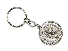 0190 - St Christopher Pendant Keyring Keychain Bag Charm Zipper Charm Protection