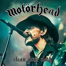 Motörhead-Clean your clock CD + BLU-RAY NUOVO