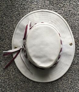 Tilley Aussie Sun Hat Endurables Travel Clothing Canada 7 56.5cm Unisex Beige