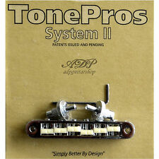 TonePros TP6G-C CHEVALET Nashville Nylon 66'saddle Tune-O-Matic Bridge GIBSON LP