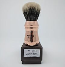 Copper Handle XXL Manchurian Two Band 28mm Brush by Zenith. Made in Sicily. M15