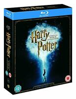Harry Potter Blu-ray [Region Free] Complete 8-Film Collection - All 1-8 Movies