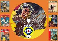 Air Ace & Other Uk Picture Library Comic Collection 1 On Dvd Rom