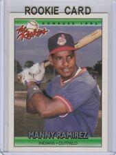 MANNY RAMIREZ Donruss THE ROOKIES Cleveland Indians Baseball ROOKIE CARD Red Sox