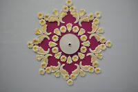 Plaster Ceiling Rose/ Design, Home Décor, plaster of Paris, Victorian Style