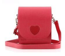 Fashion Camera Case Bag For Fujifilm Polaroid Instax Mini8 90 50 7S 25s Red love