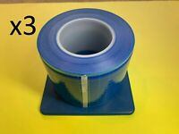 Barrier Film Full Cover Non-Stick Edge Dental Medical Tattoo 1200 Sheets X3 ROLL