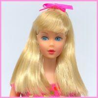 Vintage Barbie TNT - Pale Blonde - Pink Swimsuit OSS Mod Twist N Turn
