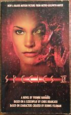 Species II Movie Tie-In Novelization Natasha Henstridge Horror Sci-Fi (PB, 1998)
