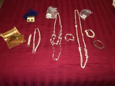 YVES ROCHER/OTHER - 5 Jewellery Sets/Pieces + Compact Mirror for Purse - NIP