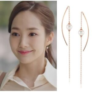 STONE HENGE I0157 Whats wrong with secretary kim EARRINGS Korea Drama at Arafeel