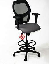 Ahrend 160 Type Draughtsman chair Grey seat  Black base